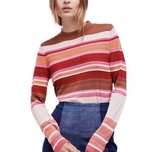 Free People Show Your Stripes Sweater
